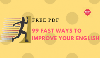 99 Fast Ways to Improve Your English + Free PDF