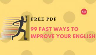 99 Fast Ways to Improve Your English + Free PDF