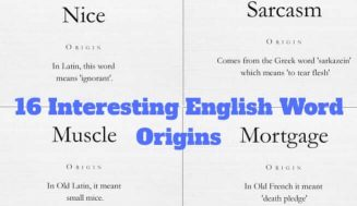16 Interesting Word Origins That Explain Why English Is A Funny Language