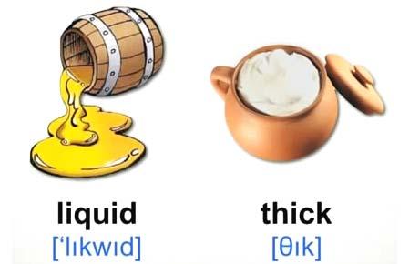liquid thick