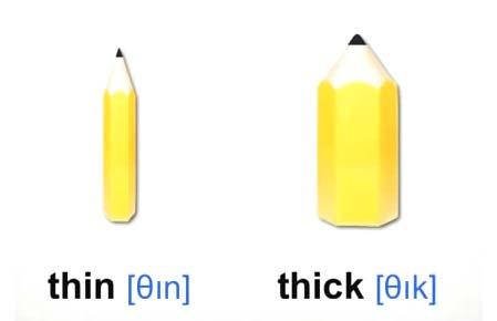 thin thick